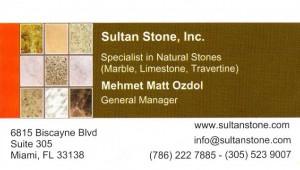 Sultan Stone